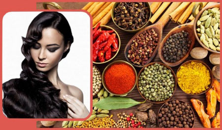 دستور رنگ کردن مو با چای یا ادویه جات